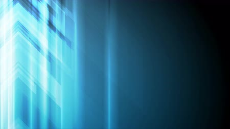 rysunek techniczny : Blue arrows abstract technology motion graphic design. Seamless loop. Video animation Ultra HD 4K 3840x2160 Wideo