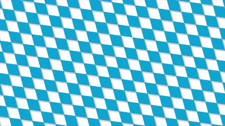 Октоберфест : Oktoberfest blue squares abstract geometric pattern motion background. Seamless loop. Video animation Ultra HD 4K 3840x2160 Стоковые видеозаписи