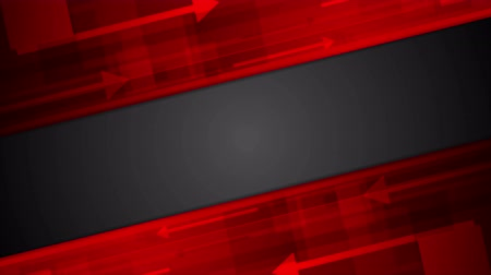 hi fi : Red and black abstract technology motion background. Video animation Ultra HD 4K
