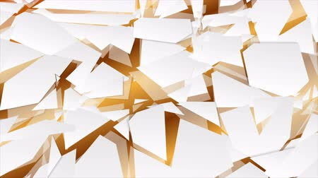 lasca : Abstract geometry hi-tech polygonal motion background. Seamless loop. Video animation Ultra HD 4K 3840x2160