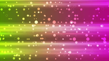 pink background : Glowing shiny tech motion design with circle particles. Seamless loop. Video animation Ultra HD 4K 3840x2160
