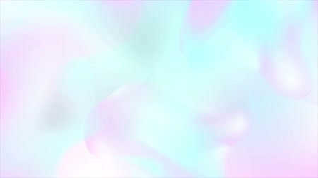 folyo : Abstract holographic liquid wavy shapes motion background. Seamless loop. Video animation Ultra HD 4K 3840x2160