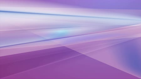 broşür : Blue and violet abstract glossy stripes video animation