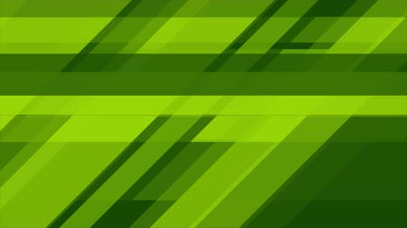 minimalizm : Bright green tech abstract geometric video animation