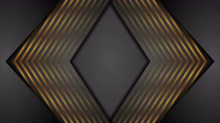 bronz : Abstract black and bronze arrows video animation