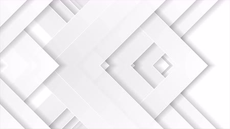 скрепки : Gray white abstract paper corporate tech motion background Стоковые видеозаписи