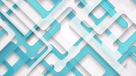 clipe de papel : Abstract gray blue paper cut stripes corporate motion background