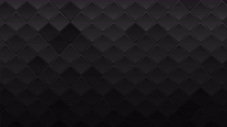 brochura : Black geometric squares abstract technology motion background Vídeos