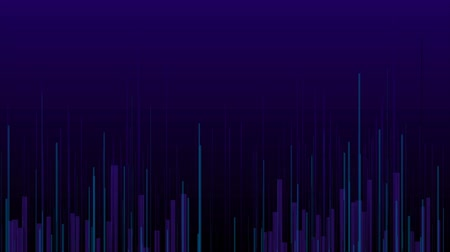 hi fi : Blue violet abstract lines technology futuristic motion background
