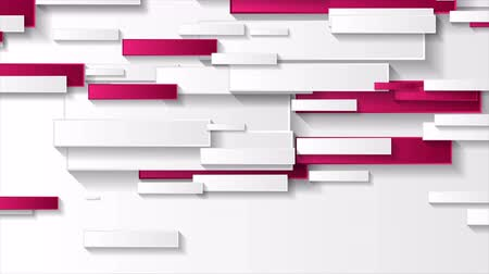 pink : Abstract grey and pink tech geometric rectangles motion background
