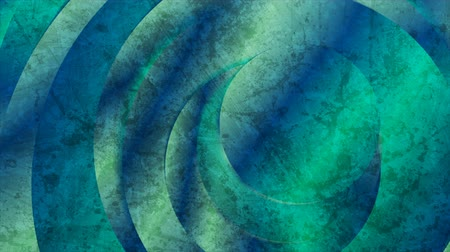 background material : Trendy green mint geometric grunge video animation with circles