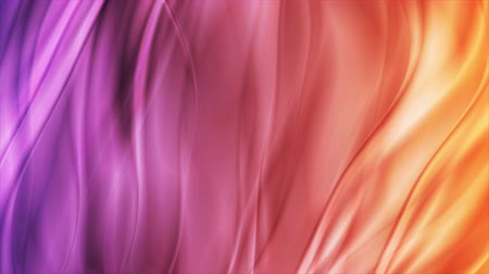 глянцевый : Abstract orange violet liquid blurred waves video animation