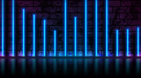 неон : Blue neon laser lines technology grunge motion background