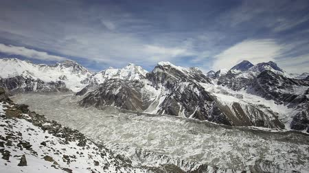 himalayan : Timelapse view from Kala Patthar, Everest region in Himalaya, Nepal