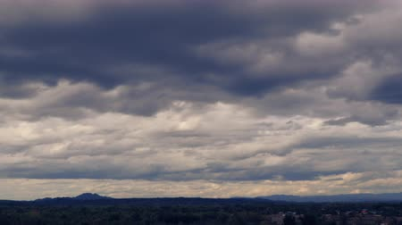 Dramatic stormy and cloud is moving mountain view,landscape time lapse, Vdo clip