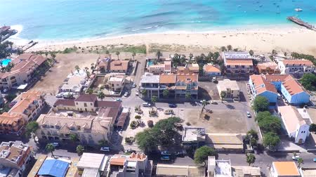 sál : Aerial view of Santa Maria city in Sal Cape Verde - Cabo Verde