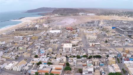 sál : Aerial view of Sal Rei city in Boavista Cape Verde - Cabo Verde