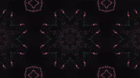 helezon : Poly Art Kaleidoscope Hypnotic Pattern Animation Footage