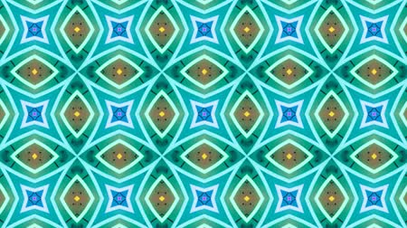 Poly Art Kaleidoscope Hypnotic Pattern Animation Footage