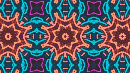 калейдоскоп : Poly Art Kaleidoscope Hypnotic Pattern Animation Footage