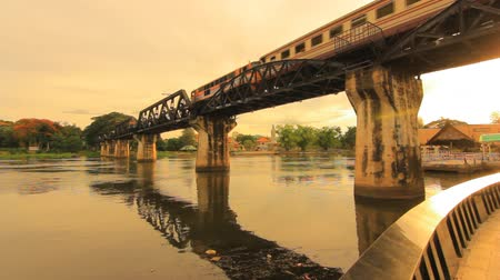 Канчанабури : Railway Bridge over the River Kwai, Thong Pha Phum Kanchanaburi, Thailand.
