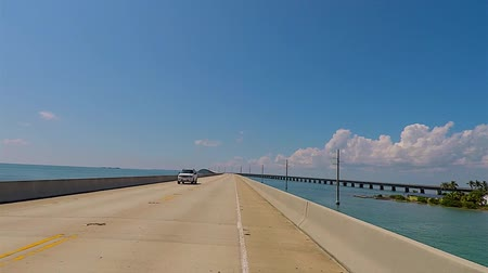 используемый : Panoramic for the Keys of Florida Стоковые видеозаписи