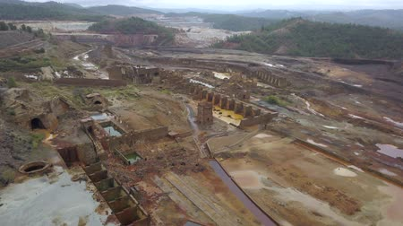 mines : View of old Rio Tinto mine