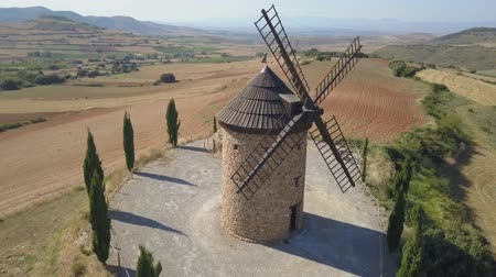 there : Windmill in La Rioja