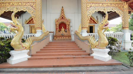 yeepeng : Buddhist temple thailand. Stock Footage