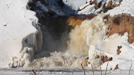 septic : Winter waterfall
