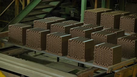 Forming and fabrication of ceramic brick factory