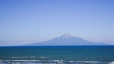 natural landscape : Mt. Rishiri from Sarobetsu