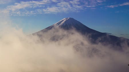 sacred site : Clouds and Mount Fuji