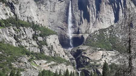 observatory : Yosemite falls in Yosemite Valley