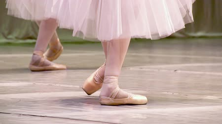 balerína : Ballerinas do synchronous movement in dance Dostupné videozáznamy