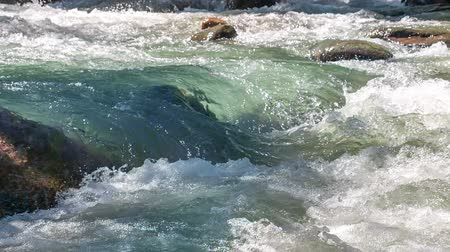 inculto : Wildness of clean, clear water in the mountain river