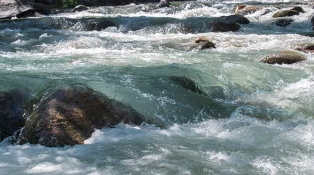 невозделанный : Wildness of clean, clear water in the mountain river