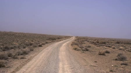 counterterrorism : Road in the desert