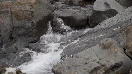 cova : water of a river Stock Footage