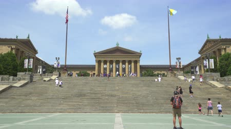 sierpien : Philadelphia, Art Museum steps - August 2017: Philadelphia, Pennsylvania, US