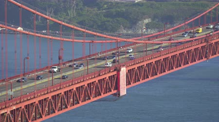 jam : Golden Gate bridge traffic - August 2017: San Francisco, California, US