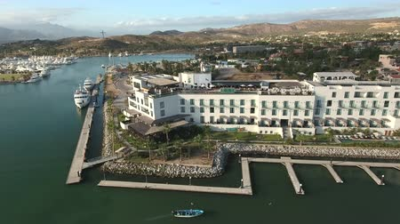 cabo san jose : Aerial view of luxury tropical hotel, resort - San Jose del Cabo, Mexico