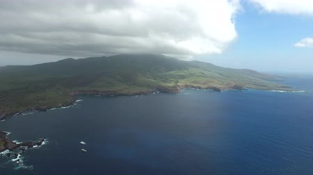 požehnat : Aerial view of a green island in the Ocean - Socorro Island