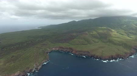 požehnat : Aerial panoramic view of a green volcanic island in the Ocean - Socorro Island