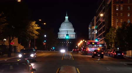 senate square : Capitol building at night - Washington DC