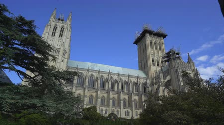us bank tower : National Cathedral, episcopal church - Washington DC