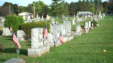 hrobky : American civil cemetery, slider shot - Pennsylvania