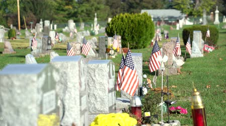 enlisted : American civil cemetery, slider shot - Pennsylvania