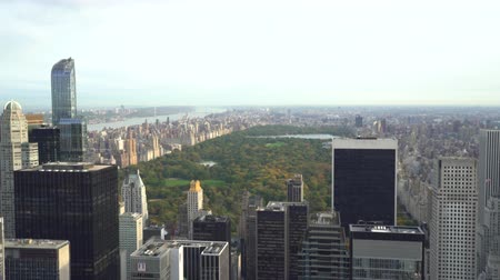 gözcü : Central Park overlooked in New York City - View from the rock
