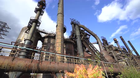 paslanmış : Abandoned Steel Factory, Industrial Ruin, Monument - Steel Stacks, Bethlehem, Us